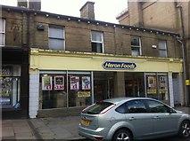 SK0394 : Heron Foods, High Street, Glossop by Darrin Antrobus