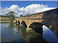 NU2410 : Alnmouth Bridge by John Allan