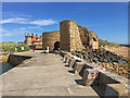 NU2328 : Lime kilns at Beadnell Harbour by John Allan
