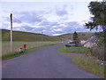 NS7828 : Old alignment of the A70 at Inches, Monksfoot by Alan O'Dowd