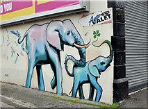 J3674 : Street art, Holywood Arches, Belfast - August 2017(2) by Albert Bridge
