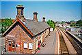 SO0561 : Llandrindod station, 2001 by Ben Brooksbank