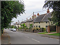 TL6860 : Cheveley: down High Street by John Sutton