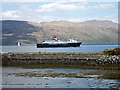 NM7236 : Pier at Craignure by John Lucas
