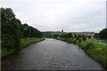 NT2540 : The Tweed from Priorsford Footbridge, Peebles by Tim Heaton