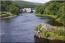NN9357 : River Tummel by Richard Webb