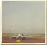 TQ8789 : Plane at Southend Airport by David Howard archives