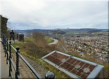 NS8095 : Wallace Monument viewpoint by Gerald England