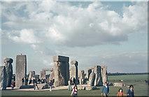 SU1242 : Stonehenge 1974 by Klaus Liphard