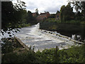 SE3967 : The weir at Boroughbridge by Stephen Craven