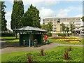SJ9122 : Mottram Shelter, Victoria Park, Stafford by Alan Murray-Rust