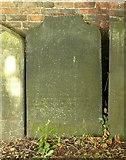 SJ9223 : Mr Fry's gravestone in St Mary's Churchyard by Alan Murray-Rust