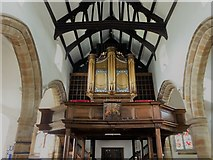 SD7336 : Inside St Mary & All Saints, Whalley (i) by Basher Eyre