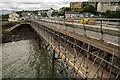 SH5873 : Restoration Works at Bangor Pier by Oliver Mills