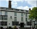 SJ9223 : Swan Hotel, Greengate Street, Stafford by Alan Murray-Rust