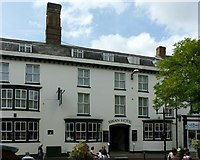 SJ9223 : Swan Hotel, Greengate Street, Stafford by Alan Murray-Rust