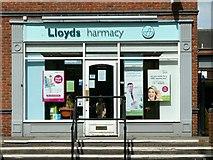 SJ9223 : Lloyds harmacy, Mill Bank by Alan Murray-Rust
