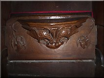 SD7336 : St Mary & All Saints, Whalley: misericord carving (xv) by Basher Eyre