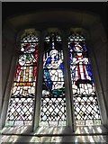 SD7336 : St Mary & All Saints, Whalley: stained glass window (A) by Basher Eyre