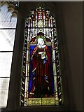 SD7336 : St Mary & All Saints, Whalley: stained glass window (C) by Basher Eyre