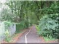 SP3278 : NCN south in Spencer Park by Martin Richard Phelan