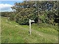 TV5897 : South Downs Way Bridleway Sign by PAUL FARMER