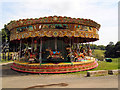 SU7585 : Carousel at Fawley Hill by Paul Gillett
