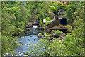 NH2701 : Outflow from Loch Garry by Mick Garratt