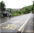 SS5146 : St Brannock's Road bus stop and shelter, Ilfracombe by Jaggery