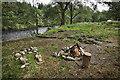 NN2331 : Leave no trace, wild camp site Glen Orchy by Mick Garratt
