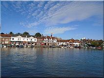 SU7682 : River Thames, Henley by Paul Gillett