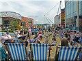 ST3187 : Urban Beach, John Frost Square, Newport (1) : Week 35