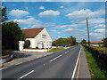 TQ5886 : St. Mary's Lane, near Cranham by Malc McDonald