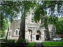 SS6592 : St Mary's Church, Swansea by Roger Cornfoot
