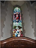 SD6279 : Holy Trinity, Casterton: stained glass window (V) by Basher Eyre