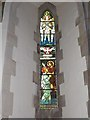 SD6279 : Holy Trinity, Casterton: stained glass window (VI) by Basher Eyre