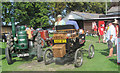 SP9315 : The Steam Car passes some old tractors at Pitstone Green Museum by Chris Reynolds
