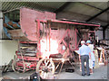 SP9315 : A large threshing machine at Pitstone Green Museum by Chris Reynolds
