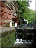 SO8275 : Caldwall Lock south of Kidderminster, Worcestershire by Roger  Kidd