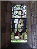 SD4964 : St Wilfrid, Halton: stained glass window by Basher Eyre