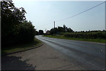 TM1227 : B1035 Clacton Road, Horsley Cross by Geographer