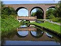 SO8275 : Bridge and viaduct across the canal near Kidderminster : Week 34 winner