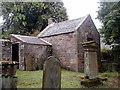 NT9932 : Watch-house, Doddington churchyard by Bill Harrison