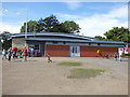 TA1231 : East Park - ticket office by Stephen Craven