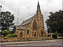 SJ3350 : St Mary's Church, Wrexham by Roger Cornfoot