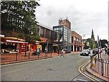 SJ3350 : Wrexham Methodist Church by Roger Cornfoot