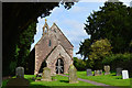 SO4200 : St John, Llangwm Isaf by Philip Pankhurst