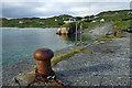 NB0936 : Mooring bollard, Bhaltos pier by Mick Garratt