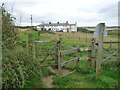 NZ6721 : Public footpath to the Coastguard Cottages by Christine Johnstone