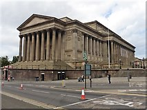 SJ3490 : St George's Hall, Liverpool by Roger Cornfoot